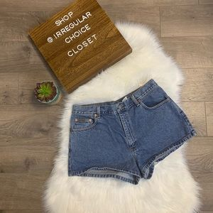 Vintage Calvin Klein Jean Shorts High Waisted Mom